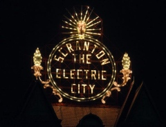 Electric City Sign